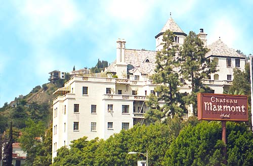 The Chateau Marmont in West Hollywood