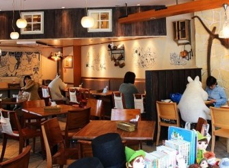 Suasana Moomin House Cafe