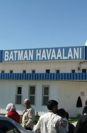Batman Airport, Turki