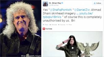 "Kicauan Brian May di Twitter terkait izin lagu ""We Will Rock You"""
