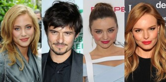 Nora Arnezeder, Orlando Bloom, Miranda Kerr, Kate Bosworth