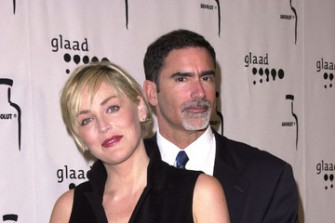 Sharon Stone & Phil Bronstein