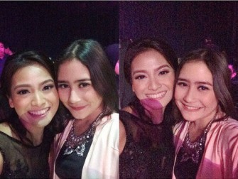 Acha dan Prilly (Instagram)
