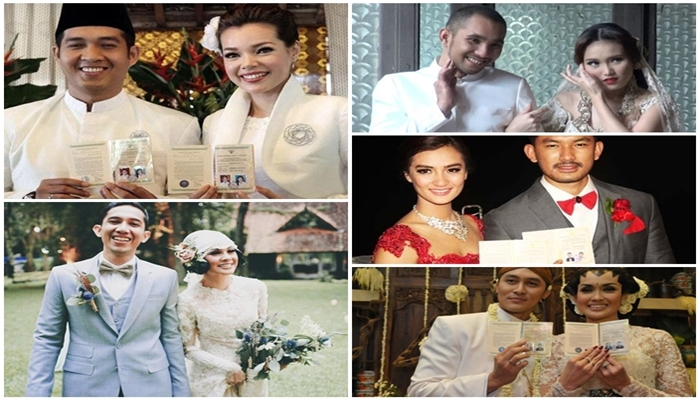 Anti Mainstream, 5 Seleb Ini Gelar Pernikahan Sederhana