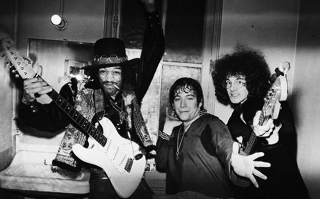 Jimi Hendrix and The Experience (Kaskus)