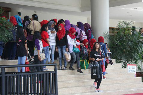 Suasana venue The World of Aliando (Kapanlagi)