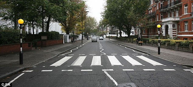 Zebra Cross (Daily Mail)