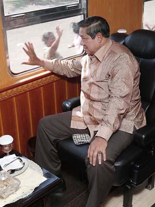Kereta Kepresidenan | Foto by presidenri.go.id