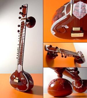 Alat musik sitar by google.com