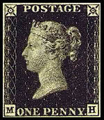 The penny black by google.com
