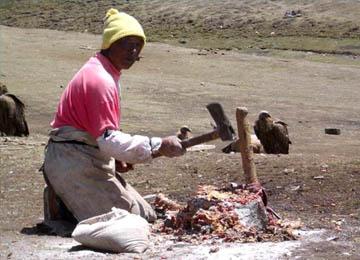 Penguburan di Tibet