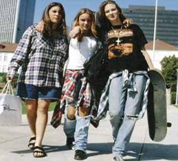 fashion grunge era tahun 90 an