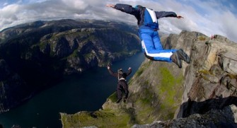 Cliff Base Jumping