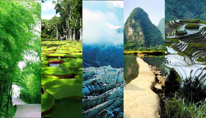 10 Tempat Wisata Alam China