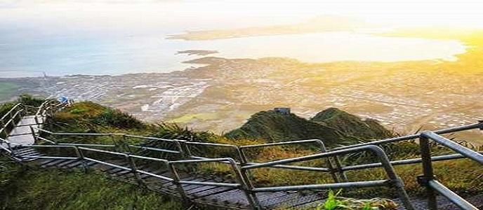 Keren! Hawaii Punya 'Tangga Menuju Surga'
