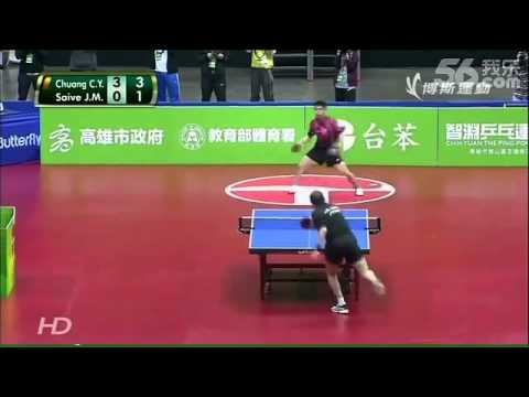 VIDEO: Pertandingan Tenis Meja Paling Kocak