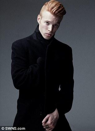 Louis Evan setelah menjadi model