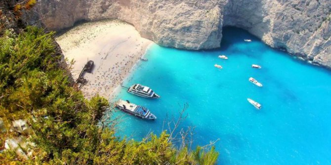 Navagio, Pantai Tercantik di Yunani