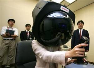Toshiba 360 Gaming Helmet (Helm game)