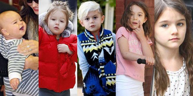 5 Anak Seleb Hollywood yang Lucu dan Imut