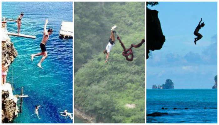 5 Tempat untuk Cliff Jumping di Asia