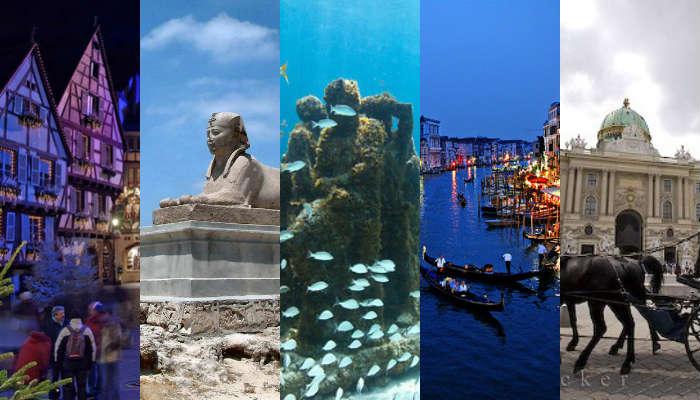 5 Tempat Romantis di Seluruh Dunia