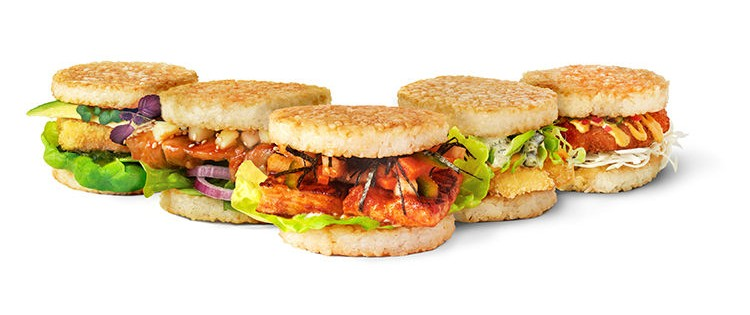 Sushi Burger, Burger Rendah Kalori dari Jepang