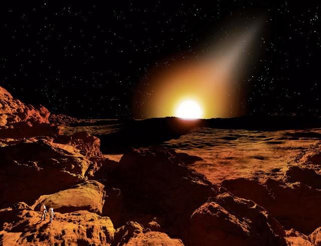 Matahari Terbit di Merkurius