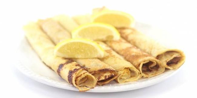 Pancake Sugar Lemon