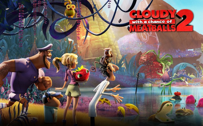Cloudy with a Chance Meatballs 2