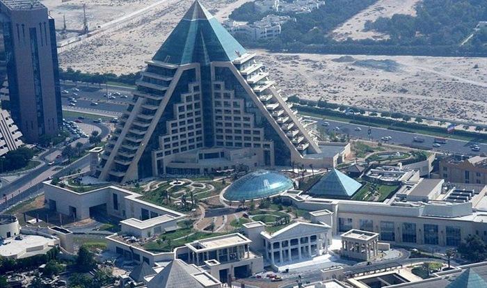 Wafi Mall, Mal Berbentuk Piramida