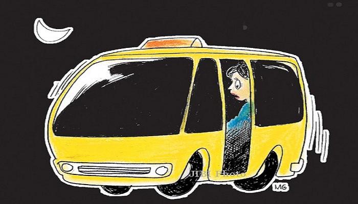STORY: Sopir Angkot 'Dikerjain' Tiga Hantu Wanita