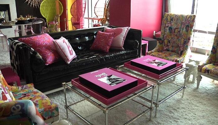 Uniknya Kamar Hotel Bernuansa Barbie di Las Vegas