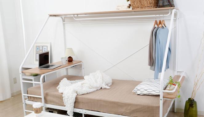 Unik! Ada Tempat Tidur Serbaguna Bagi Si Pemalas