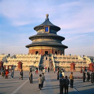 Kuil Surga, Republik Rakyat Cina