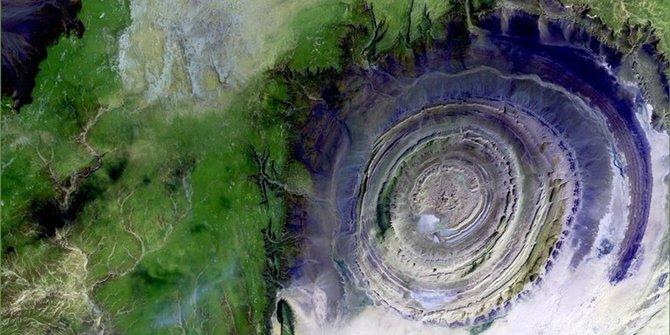 Struktur Richat, Mata Raksasa di Gurun Sahara