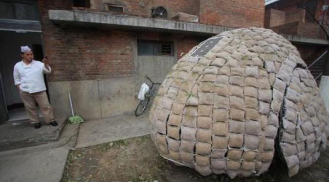Rumah 'Telur', Desain Rumah yang Ramah Lingkungan