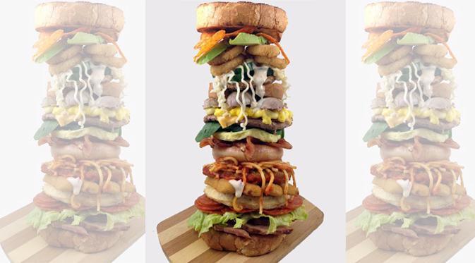 Sandwich Alfabet, Sandwich dengan 26 Bahan Pilihan