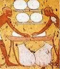 Pembuatan Keju Mesir Kuno