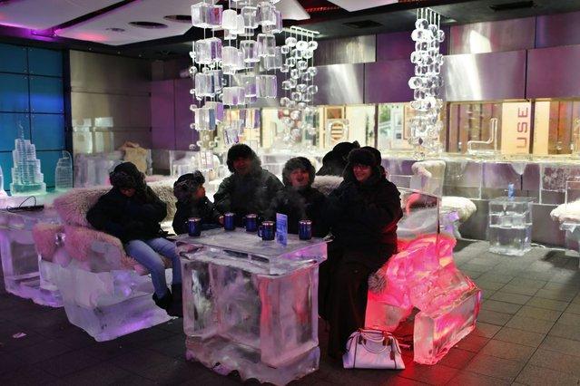 Sejuknya Kafe Es di Dubai