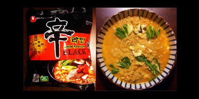 Nong Shim Shin Ramyun Black Premium Noodle Soup