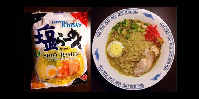 Sapporo Ichiban Shio Ramen Noodles