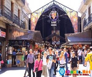 Las Ramblas & the Mercat de la Boqueria, Spanyol