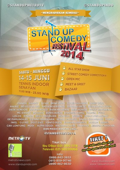Stand Up Comedy Festival 2014