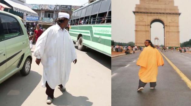 Sering Jalan Mundur, Pria India Lupa Jalan Maju
