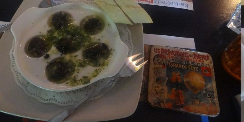 Escargots dan Gallete, Hidangan Favorit Asal Perancis