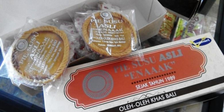 Sensasi Makan Pie Susu Khas Bali