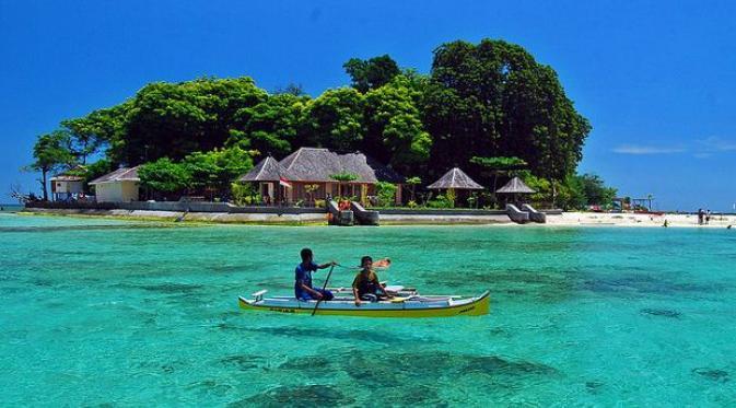 Melongok Indahnya Pulau Samalona di Makassar