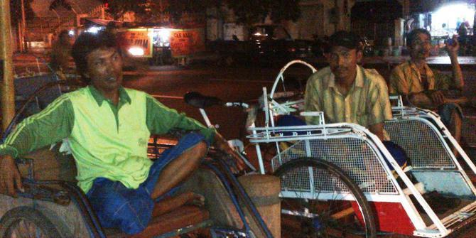 STORY: Jujurnya Mat Choiri Si Tukang Becak