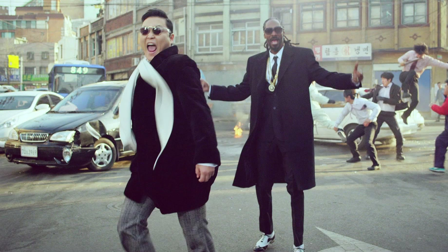 VIDEO: Kocaknya PSY di Video Klip Hangover